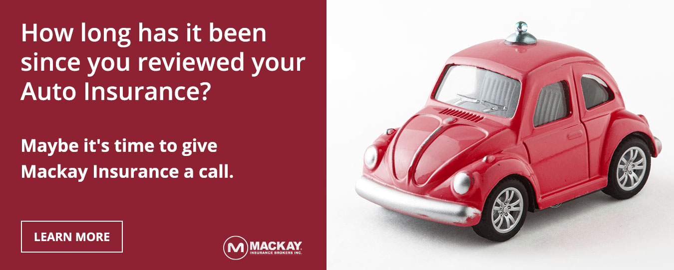 Is it time to review your Auto Insurance? Be sure, insure with Mackay Insurance.