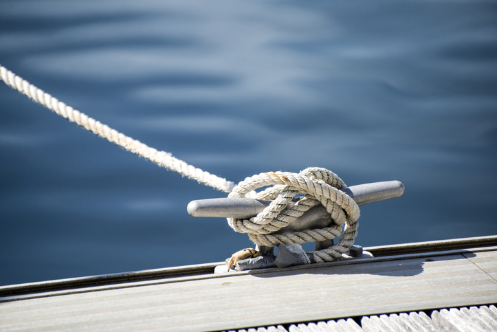 knot on dock