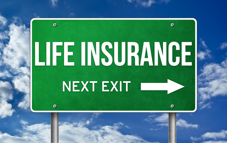 life insurance next exit sign