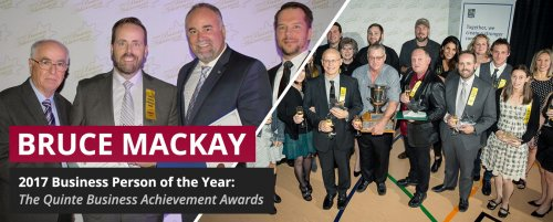 Business person of the year 2017 - Bruce Mackay